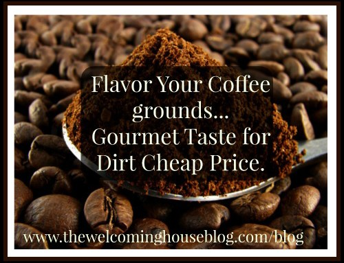 Make Your Own Flavored Coffee Grounds for a Fraction of the Price!