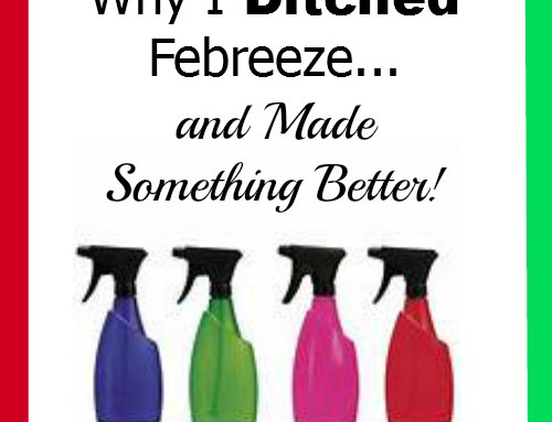 Make It Yourself Monday–Why I Ditched Febreeze…and Made Something Better!
