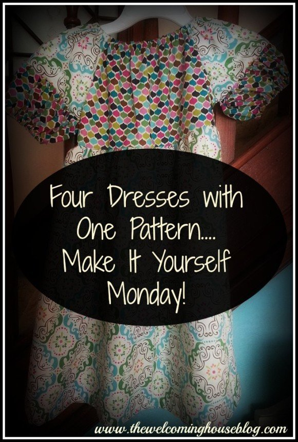 Make it Yourself Monday—4 dresses with One Pattern!