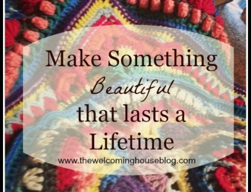 Crocheting something of Beauty….