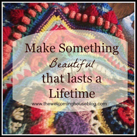 Crocheting something of Beauty….