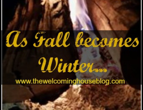 As Fall becomes Winter…
