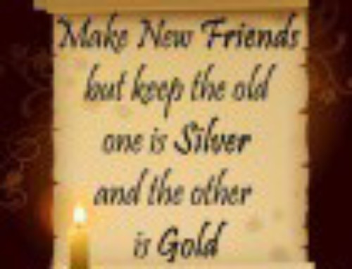 Silver and Gold…
