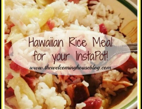 Hawaiian-Style Rice–a quick meal for Lunch using your InstaPot!