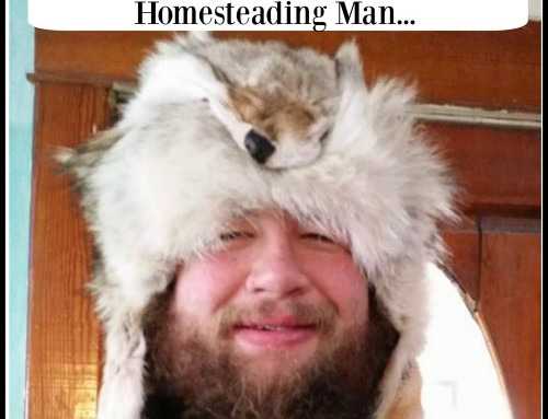 When you Marry a man with a Homesteading Heart….