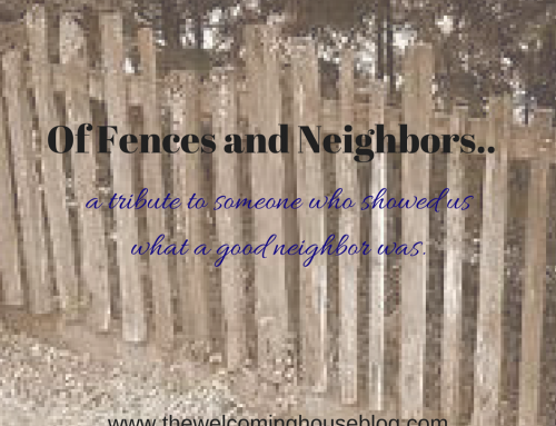 Forget fences…be a good neighbor