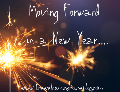Moving Forward in a New Year….