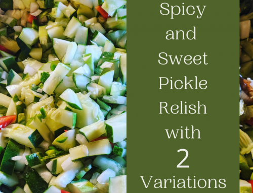 Sweet Pickle Relish for your Pantry! MIY Monday post!